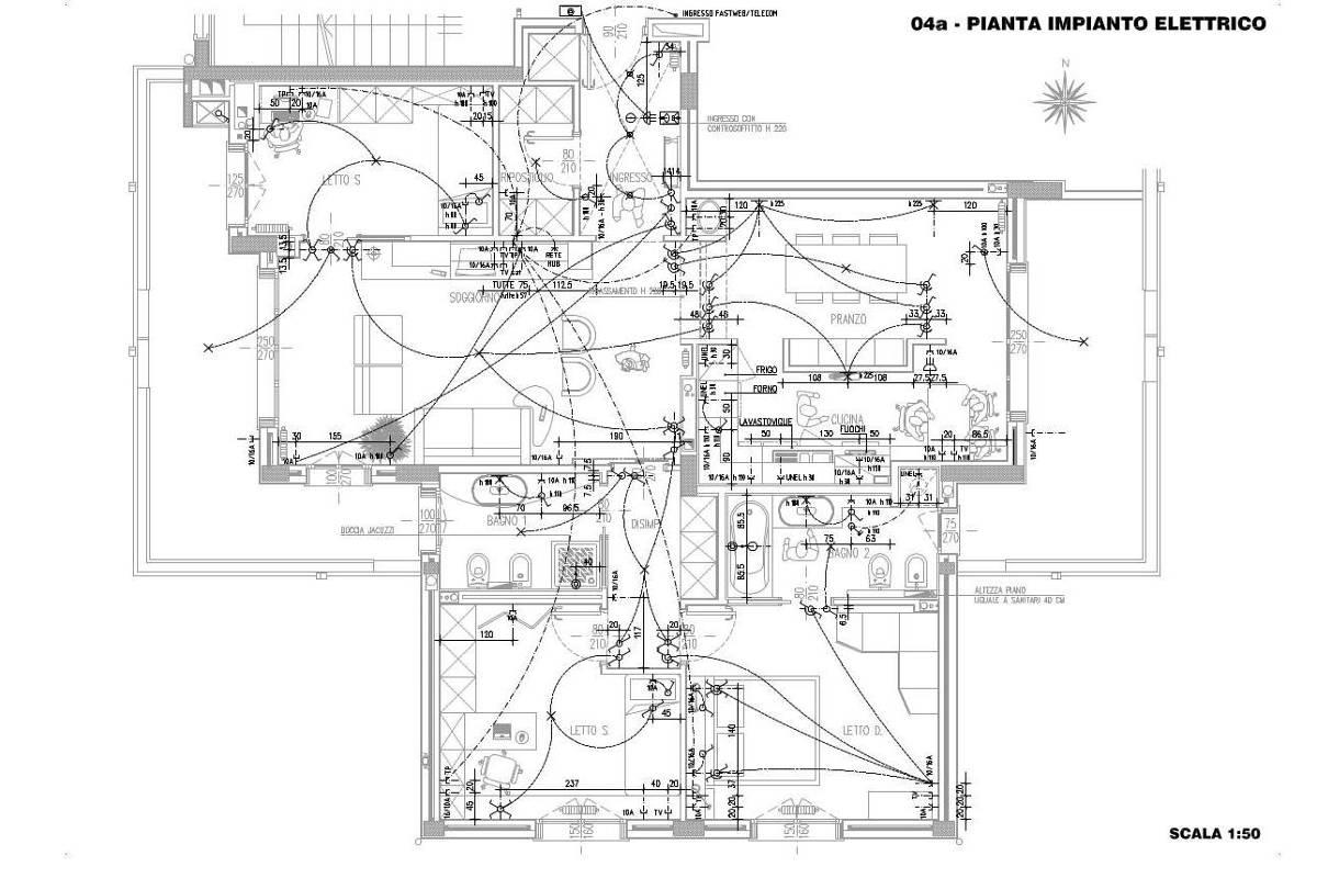 Slideshow 3 architetto al mq nca for Progetto impianto elettrico casa