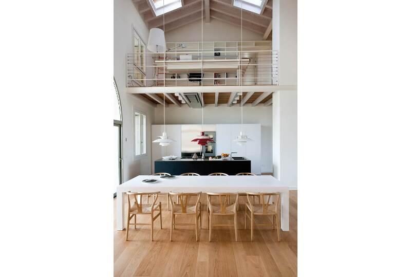 Loft con soppalco architetto al mq nca - Cucina con soppalco ...