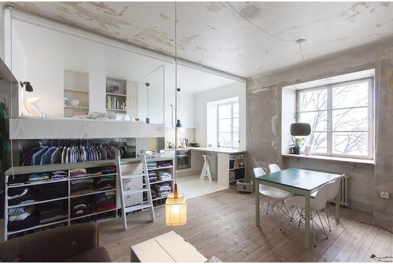 Appartamento 35 mq con mobili ikea architetto al mq nca - Casa 50 mq ikea ...