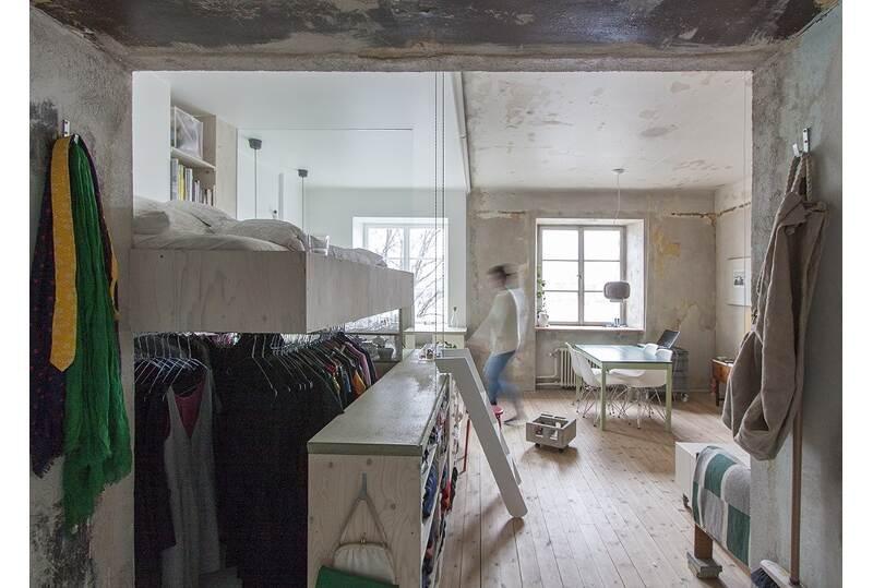 Appartamento 35 mq con mobili ikea architetto al mq nca - Arredare studio ikea ...