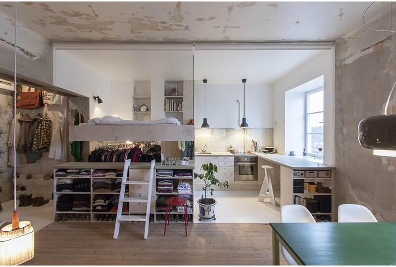 Appartamento 35 mq con mobili ikea architetto al mq nca for Alloggi per studenti new york