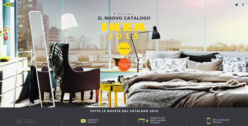 Nuovo catalogo ikea architetto al mq nca for Catalogo ikea nuovo