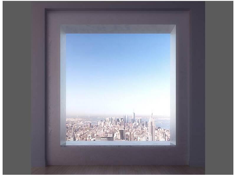 Stanza Con Vista Appartamento A New York Architetto Al Mq
